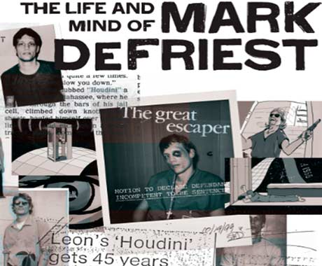 The Life and Mind of Mark DeFriest Gabriel London