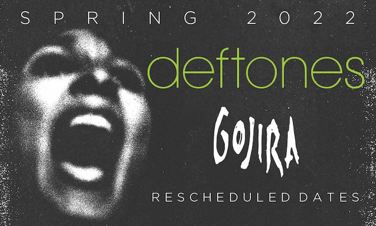 Deftones and Gojira Postpone North American Tour — Again