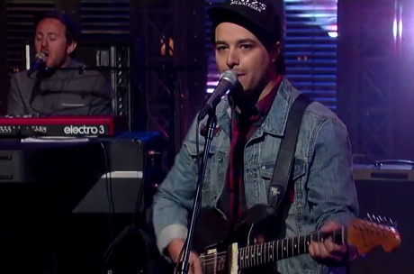 Delta Spirit 'From Now On' (live on 'Letterman')
