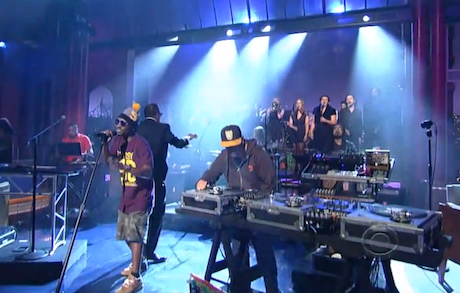 "Deltron 3030 ""City Rising from the Ashes"" (live on 'Letterman')"