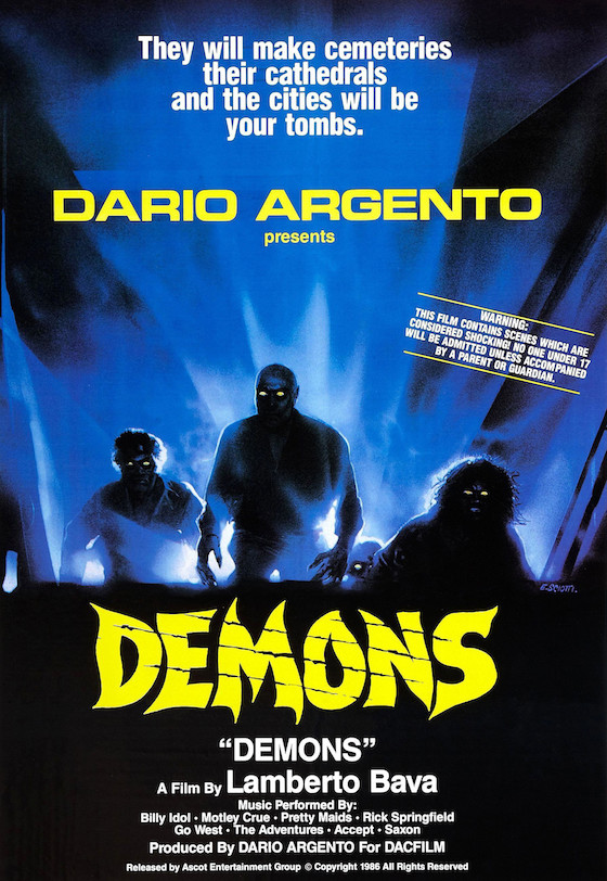 Lamberto Bava and Dario Argento Might Remake 'Demons' in 3-D