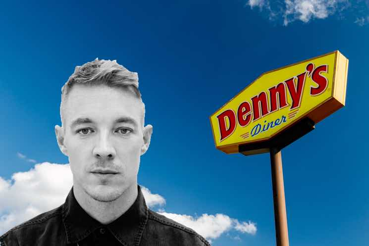 Diplo and Denny's Are Fighting About Potatoes on Twitter