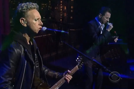 Depeche Mode 'Heaven' (live on 'Letterman')