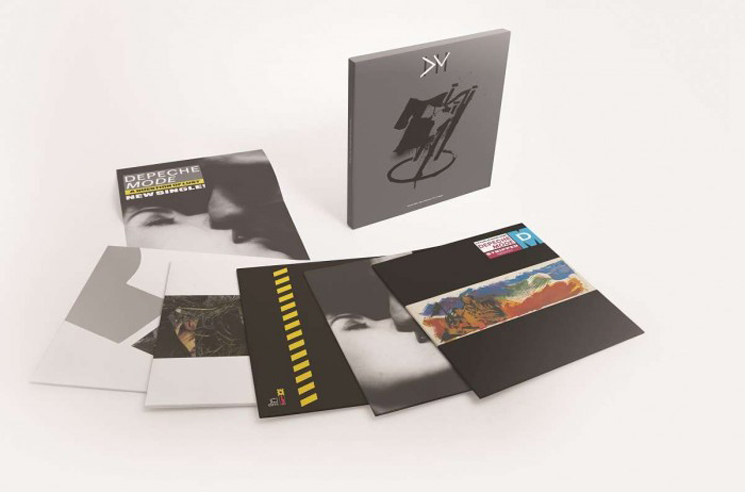 Depeche Mode Ready New 12-inch Single Box Sets