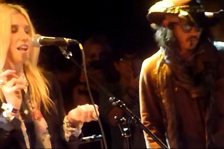 "Tom Petty & the Heartbreakers ""Mary Jane's Last Dance"" (cover by Johnny Depp, Ke$ha, Patrick Carney)"