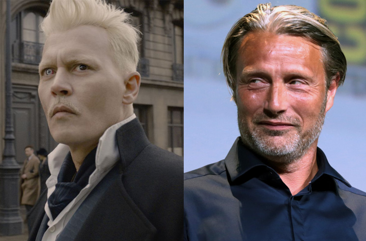 Mads Mikkelsen Could Replace Johnny Depp in 'Fantastic Beasts'