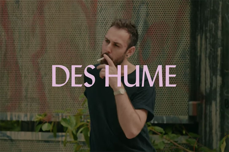 Vancouver's des hume Is Here to 'Break Yr Heart' on Valentine's Day