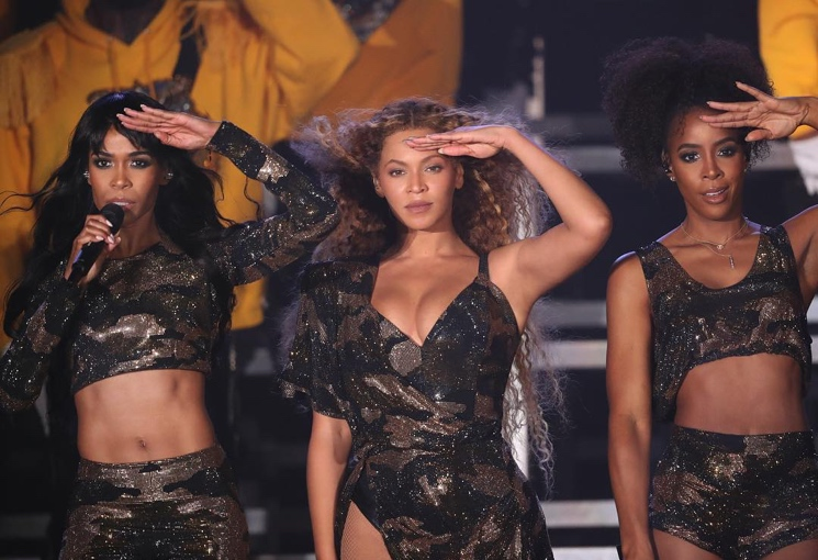 Beyoncé Reunites with Destiny's Child at Coachella