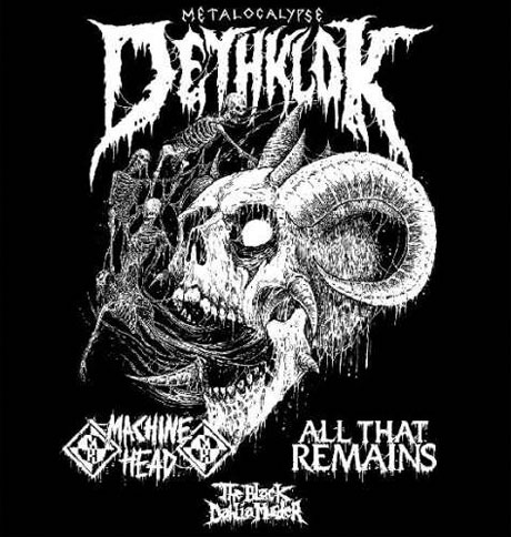 Dethklok Announce North American Tour with Machine Head, All That Remains, Black Dahlia Murder