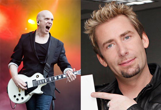 "Devin Townsend Has Been ""Hanging Out, Playing Guitar and Talking"" with Nickelback's Chad Kroeger"