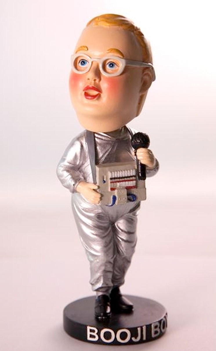 Devo Unveil Booji Boy Throbblehead Figure