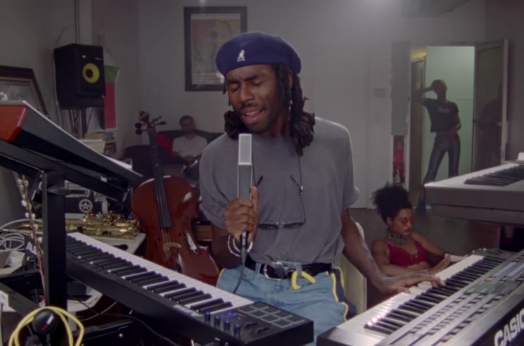"Watch Blood Orange Soundtrack a Living Room Hangout in His ""Saint"" Video"