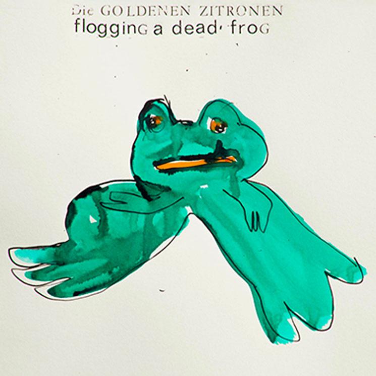 Die Goldenen Zitronen 'Flogging a Dead Frog' (album stream)
