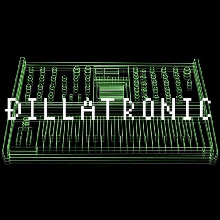 """J Dilla """"Dillatronic #34"""""""