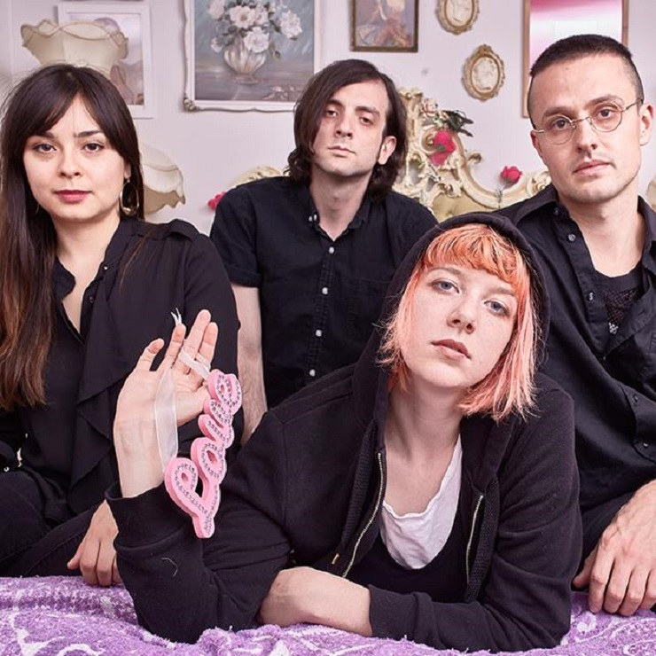 "Dilly Dally Announce Fall North American Tour, Premiere ""Purple Rage"""