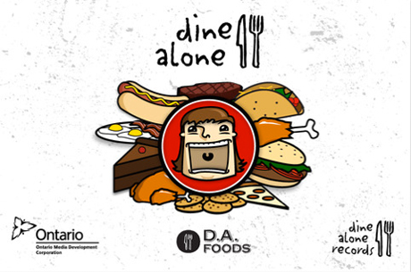 Dine Alone Records Releases Free Mobile Game with Song Giveaways from City and Colour, Parlovr, Yukon Blonde