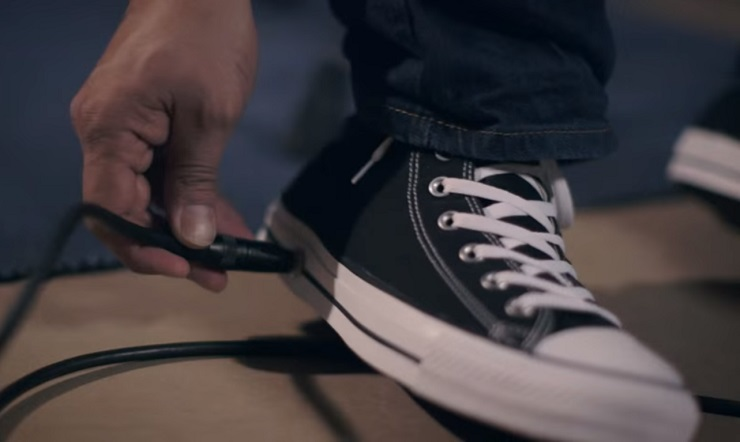 Converse Makes Sneakers with a Built-In Wah Pedal