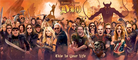 Ronnie James Dio Honoured with 'This Is Your Life' Tribute Comp Featuring Metallica, Anthrax, Motörhead