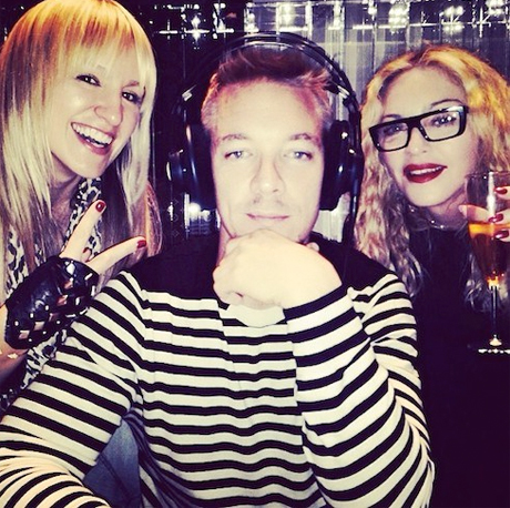 "Madonna and Diplo Collaborating on ""Crazy Sounding"" Songs for New Album"