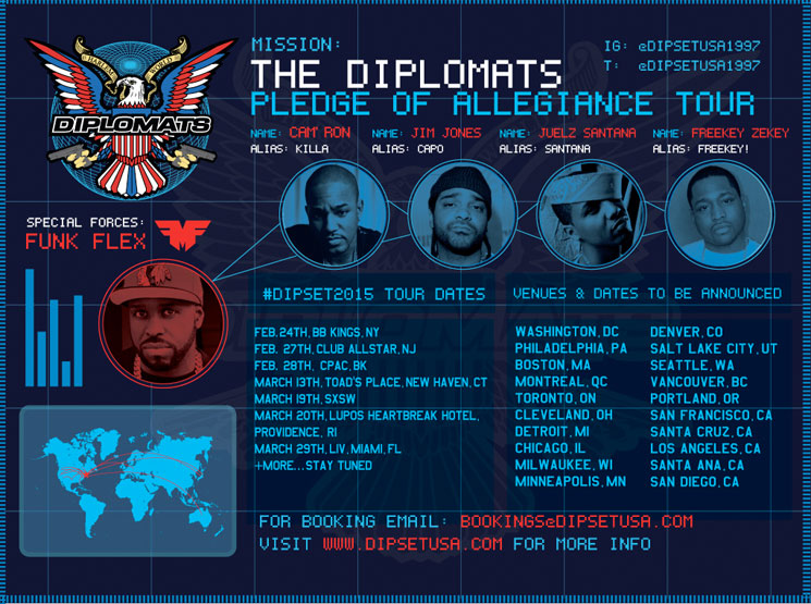 Dipset Reform for North American Tour