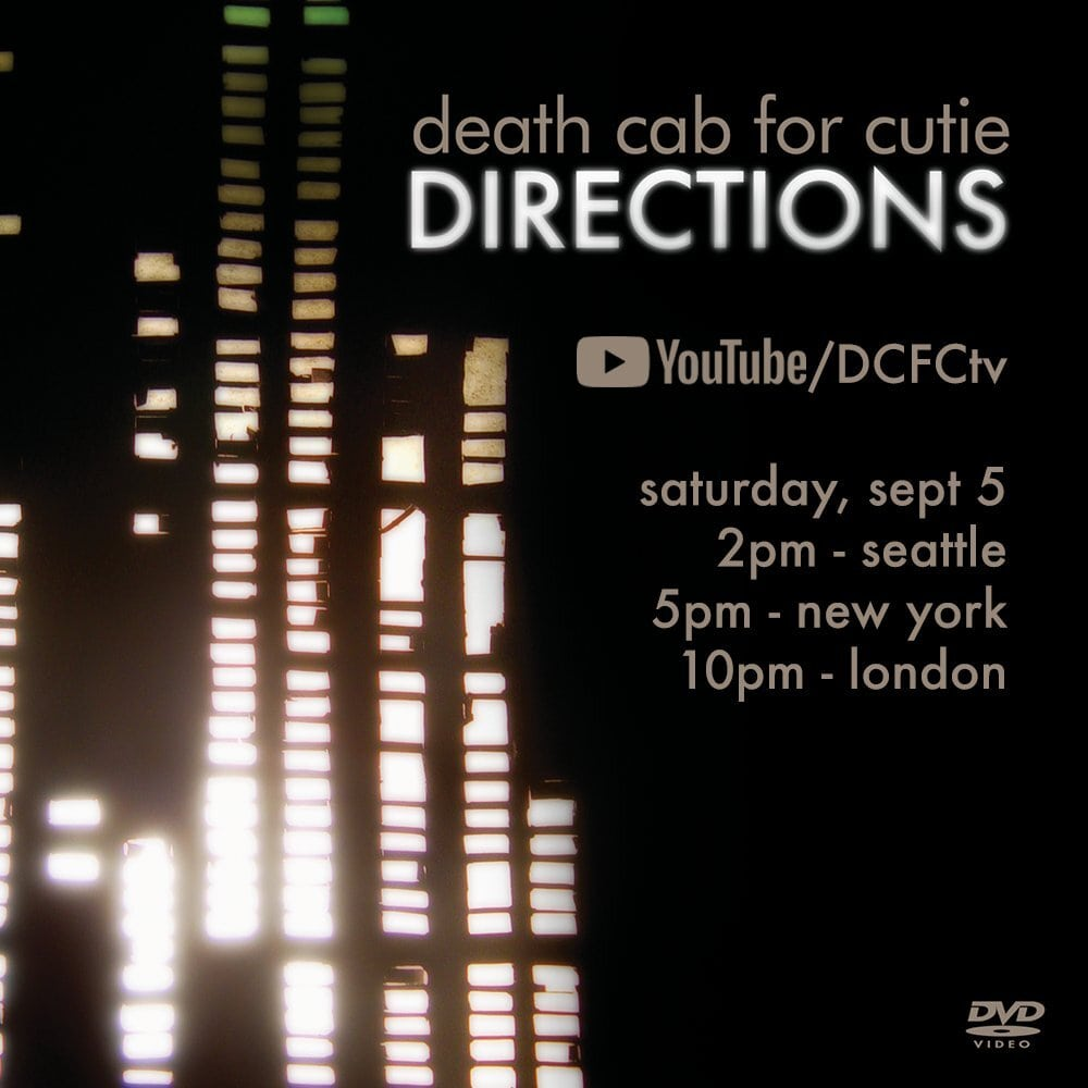 Death Cab for Cutie Celebrate 15 Years of 'Plans' with 'Directions' Visual Album Event