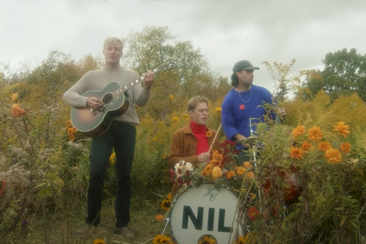 Watch the Dirty Nil Frolic Through Some Flowers in 'Blunt Force Concussion'