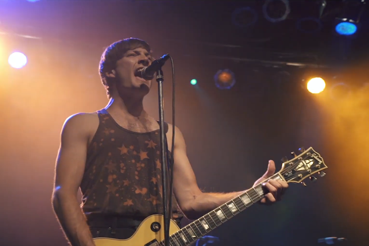 The Dirty Nil Perform 'Doom Boy' Inside Toronto's Phoenix Concert Theatre