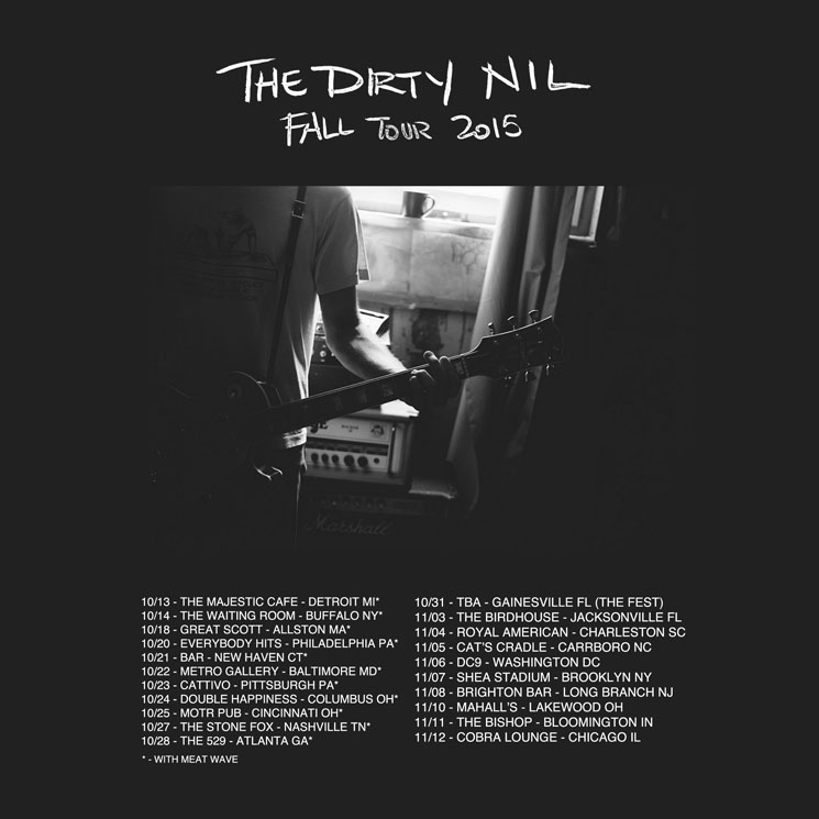 The Dirty Nil Sign to Dine Alone for Debut LP, Map Out Fall Tour