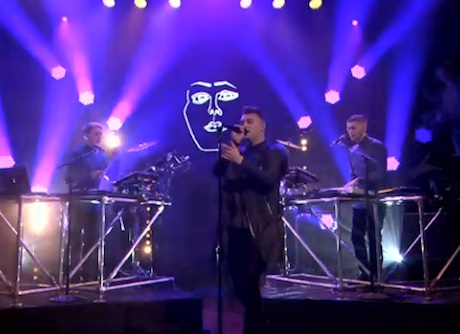 "Disclosure ""Latch"" (ft. Sam Smith) (live on 'Fallon')"