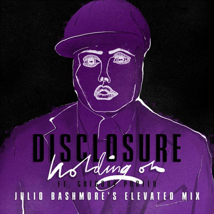"Disclosure ""Holding On"" (ft. Gregory Porter) (Julio Bashmore remix)"