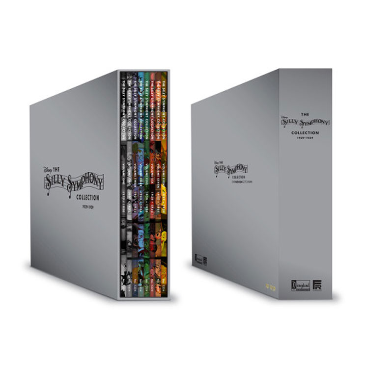 Disney Unveils Comprehensive 'The Silly Symphony Collection'