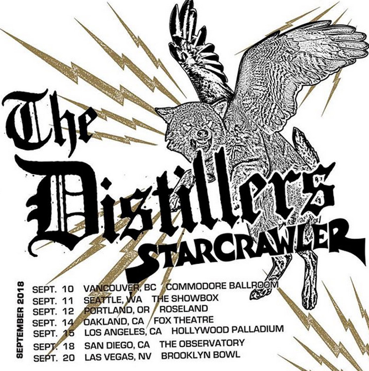 The Distillers Unveil More North American Reunion Shows