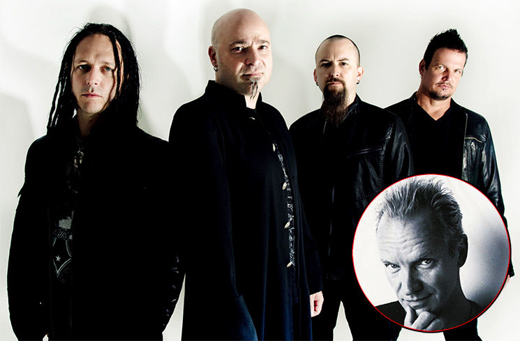 Disturbed Are Down with the Sting-Ness on Their New Cover of 'If I Ever Lose My Faith in You'