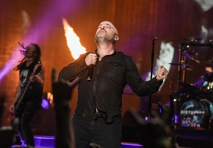Disturbed Scotiabank Arena, Toronto ON, March 4