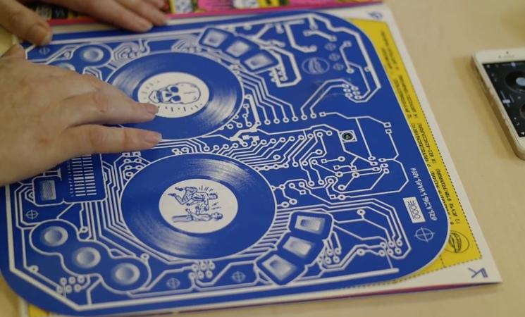DJ QBert Unveils Interactive Artwork Using Bluetooth Technology