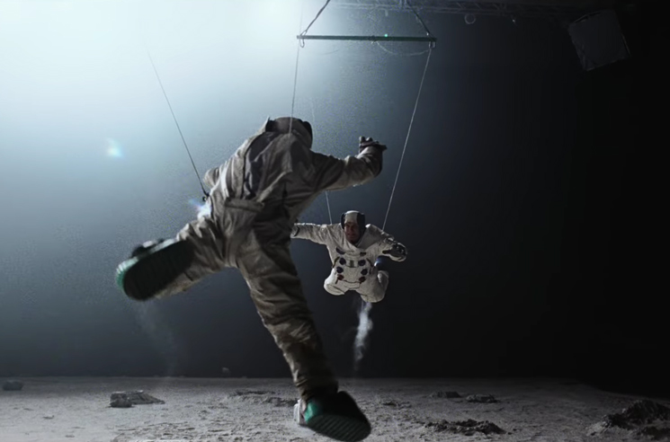 "DJ Shadow's ""Rocket Fuel"" Video Has Astronauts Brawling in Space"