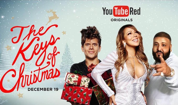DJ Khaled and Mariah Carey to Star in 'The Keys of Christmas' Special