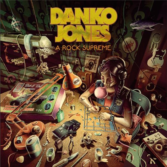Danko Jones Announce 'A Rock Supreme' LP