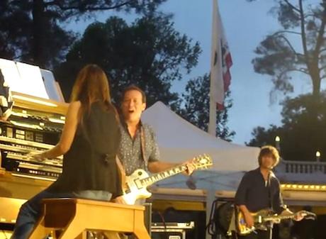 Drive Like Jehu Reunion at Balboa Park (live footage)