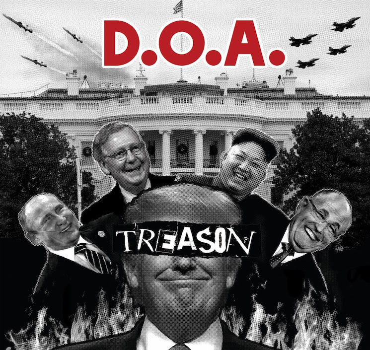 D.O.A. Return with 'Treason' LP