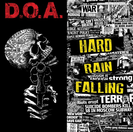 D.O.A. Detail 'Hard Rain Falling'