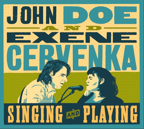 John Doe and Exene Cervenka of X to Release Duets Album