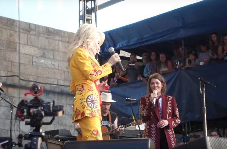 Watch Dolly Parton Join Brandi Carlile and the Highwomen Onstage at Newport Folk Festival