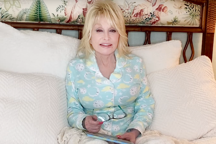 Dolly Parton announces 'Goodnight with Dolly' book reading series