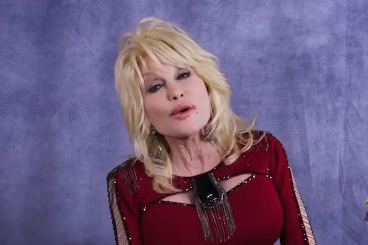 Dolly Parton Makes Stephen Colbert Cry with Impromptu 'Bury Me Beneath the Willow' Performance