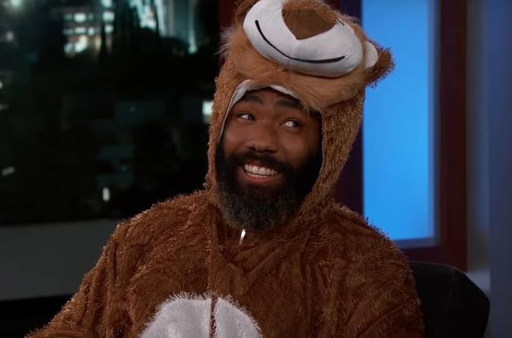​Donald Glover Wore a Lion Onesie on 'Jimmy Kimmel Live!'