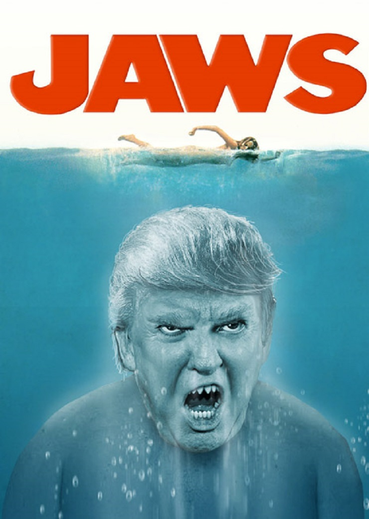 Check Out Donald Trump Mashed into Classic Horror Movie Scenes