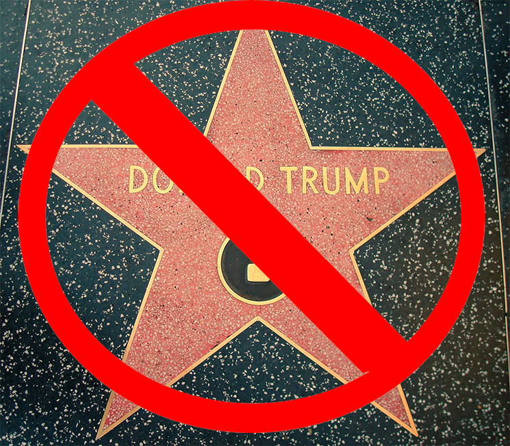 Donald Trump's Hollywood Walk of Fame Star Will Be Removed for Good