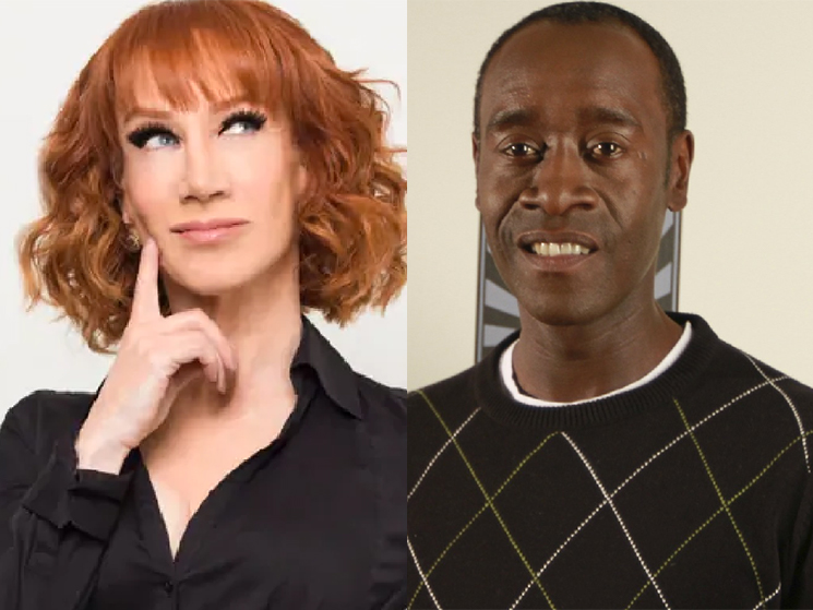 Kathy Griffin Is Publicly Beefing with Don Cheadle for Some Reason
