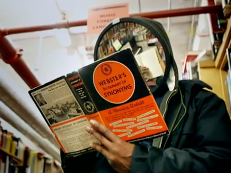 """JJ DOOM """"Bookhead"""" (video)"""